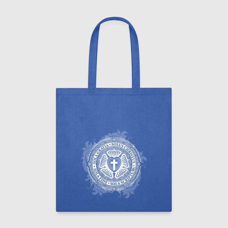 Christian Jesus Rose Lutheranism - Tote Bag