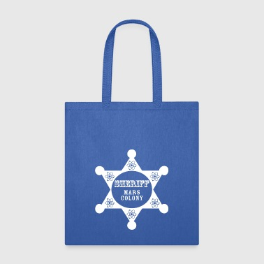 Sheriff sheriff wite - Tote Bag