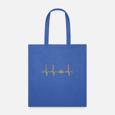 Fotografin evolution ekg heartbeat Photographer fotografin fo - Tote Bag