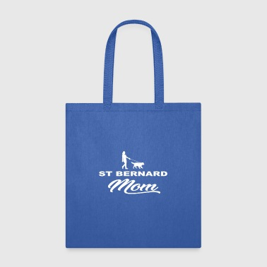 MOM MUTTER DOG HUND WOMAN ST BERNARD - Tote Bag