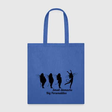 Heath Small Stomachs big personalities - Tote Bag