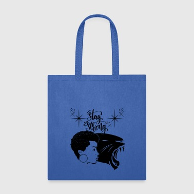 Black Woman Black Panther Power Strong Personality - Tote Bag