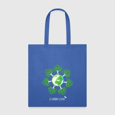 Earth Day Tree People - Tote Bag