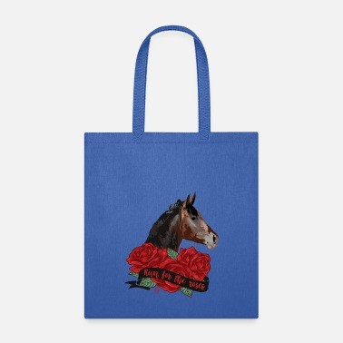 Rose Run for the roses - Tote Bag