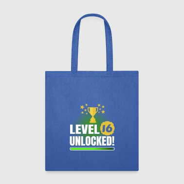 16th Birthday Gaming & Gamer Shirt - Tote Bag
