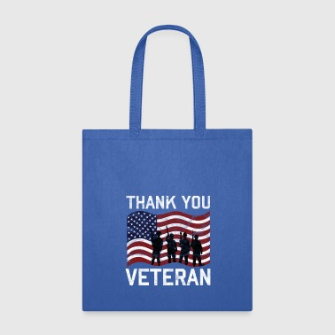Veterans Day - Thank You Veteran - Tote Bag