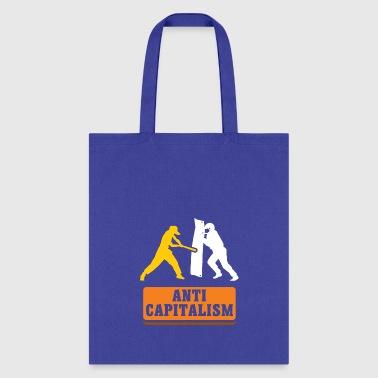 Anti Capitalism Communism Gift Idea Christmas Tote Bag