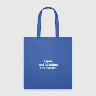 Gym And Weight Perfectday - Tote Bag