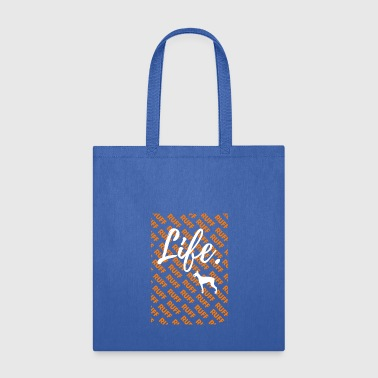 Ruff Life - Dobermann Dog Tshirt - Tote Bag