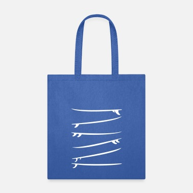Customizable Surfboards (3 customizable colors) - Tote Bag