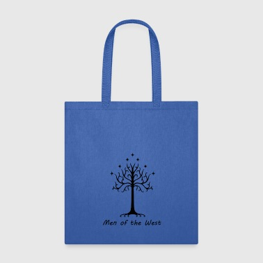 Inverted Classic White Tree of Gondor - Tote Bag