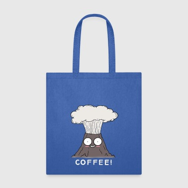 Coffee Volcano - Tote Bag