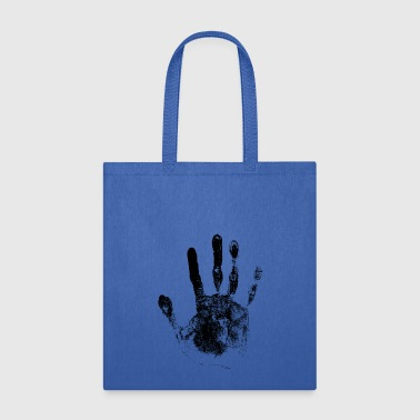 STOP black Hand Horror Thriller gift idea - Tote Bag