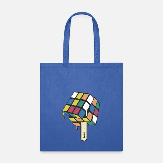 Cube Bags & Backpacks - Rubik's Cube Popsicle - Tote Bag royal blue