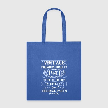 Elderly Cool 70th Birthday -Elderly Senior 70 years Bday - Tote Bag