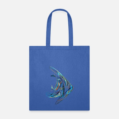 Aquarium Angelfish - Tote Bag