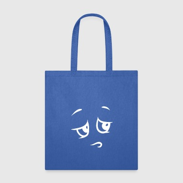 embarrassed white - Tote Bag