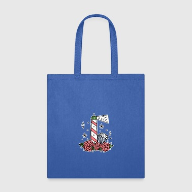 North Sea Lighthouse coast North Sea holiday gift - Tote Bag