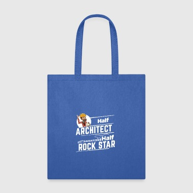 Proud Architect - Half - Tote Bag