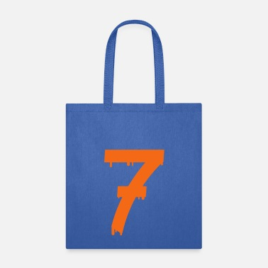 Number lucky number seven - Tote Bag