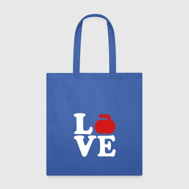 Curling love - Tote Bag