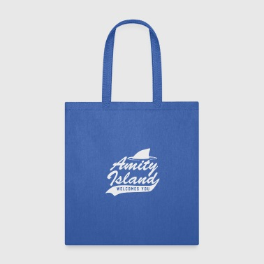 Amity Island Welcome You Cyber System - Tote Bag