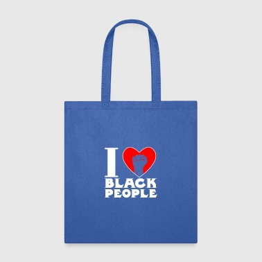 I Love Black People - Tote Bag