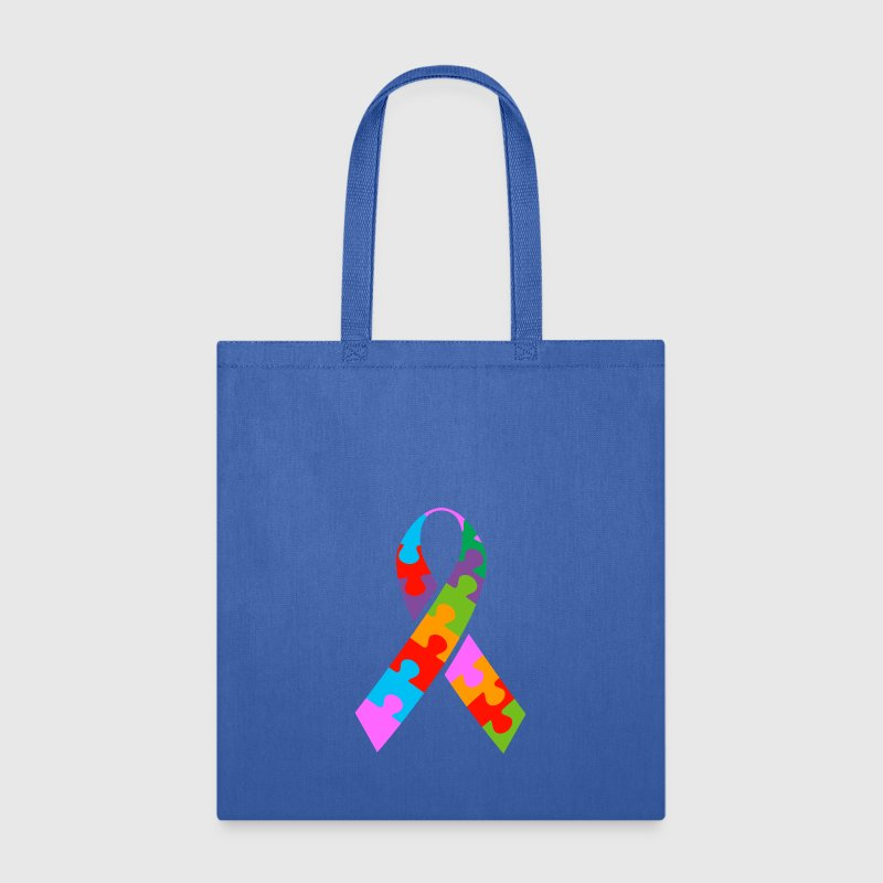 Autism Ribbon - Tote Bag