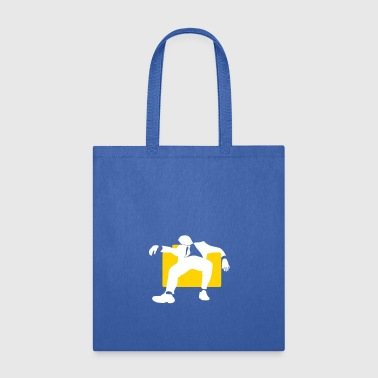Armchair A Manager Sitting Lazily On The Armchair - Tote Bag