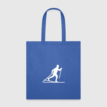Cross-country skiing - Tote Bag