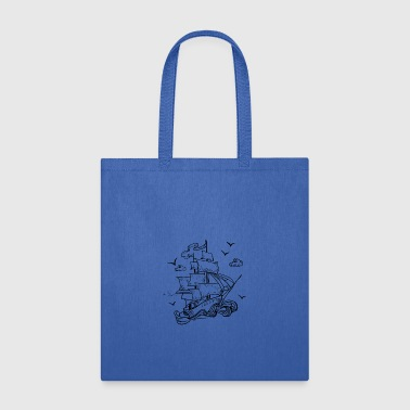 Sailing ship - Tote Bag