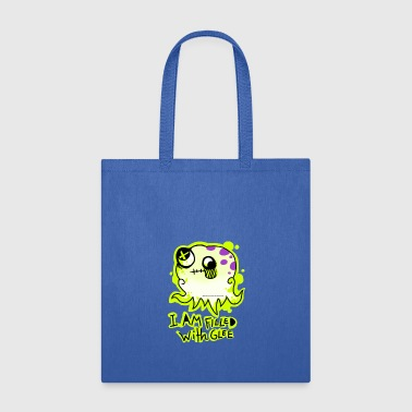 Glee FILLED WITH BRAIN GLEE - Tote Bag