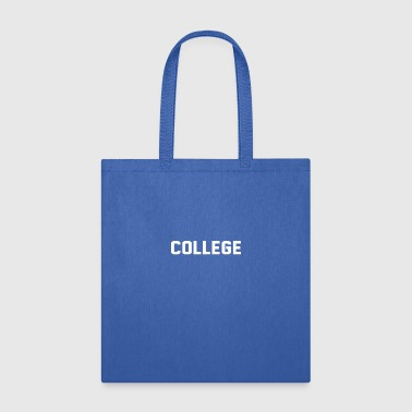 College - Tote Bag