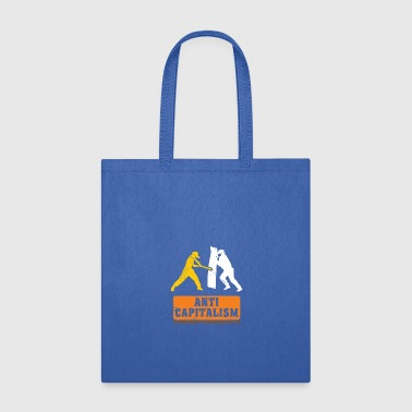 Anti Capitalism communism gift idea christmas - Tote Bag