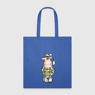 Bavarian Cow - Tote Bag
