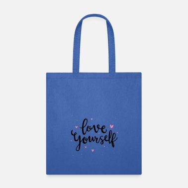 Love Africa Love Yourself Typography - Tote Bag