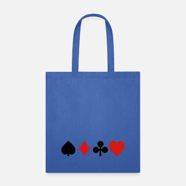 Poker playing cards - Tote Bag