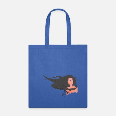 Wind Hair in the wind - Tote Bag
