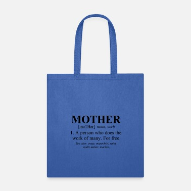 Mothers Day Mother Defined Mothers Day - Tote Bag