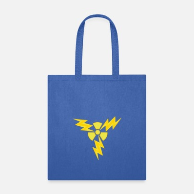Atomic Energy atom radioactive nuclear energy electric shock dan - Tote Bag