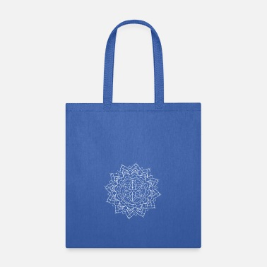 Mantra Mandala Mantra Illustration Tattoo Hipster Mantra - Tote Bag