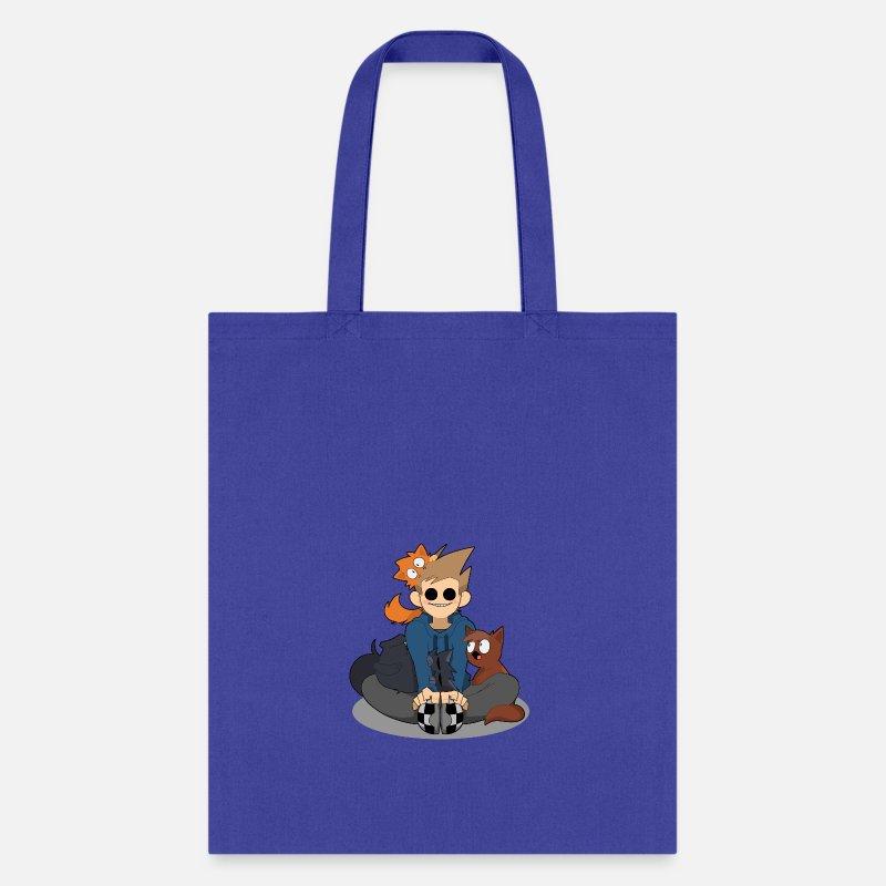 9f9f69b488 Eddsworld Bags   backpacks - Eddsworld Kitten Shopping - Tote Bag royal blue