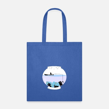 Phish Gone Phishing - Tote Bag