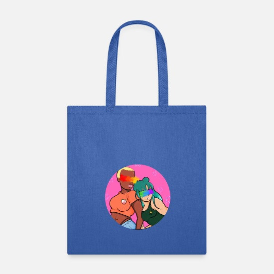 Ganja Bags & Backpacks - YOUNG QUEERS - Tote Bag royal blue