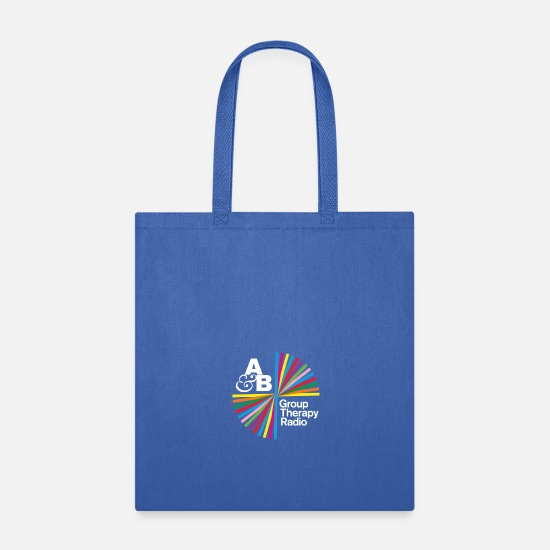 Beyond Bags & Backpacks - group therapy - Tote Bag royal blue