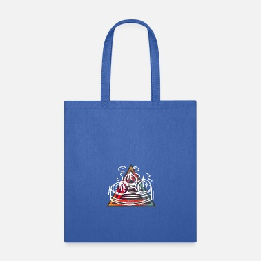 Dumpling Retro Dumplings - Tote Bag