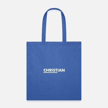 Christian CHRISTian - Tote Bag