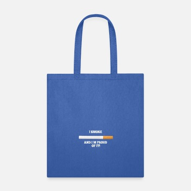 Smoking Smoke - Tote Bag