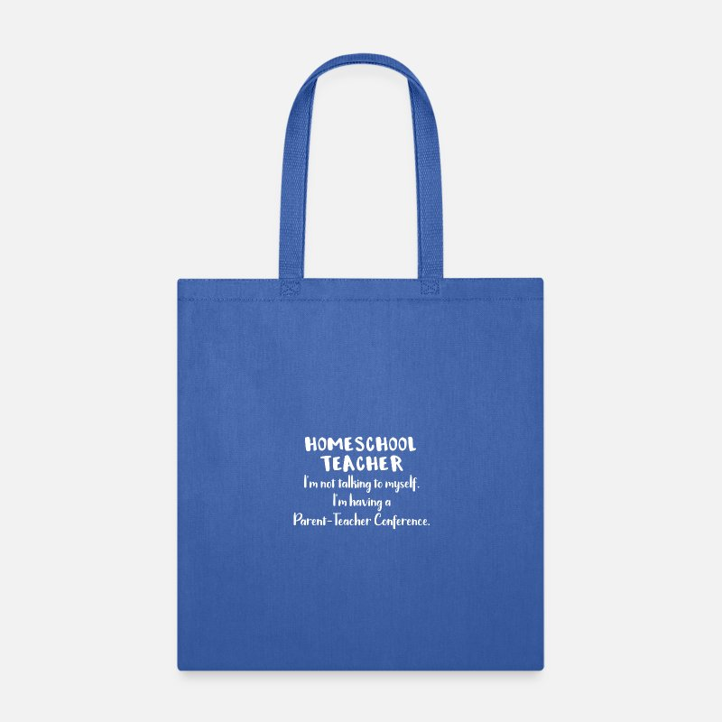 0a31482706 School Bags   backpacks - Home School Teacher Conference - Tote Bag royal  blue