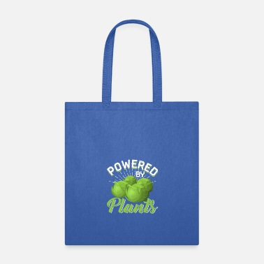 Power Plant Powered By Plants - Tote Bag